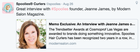 Modern Salon Magazine - Spoolies Curlers