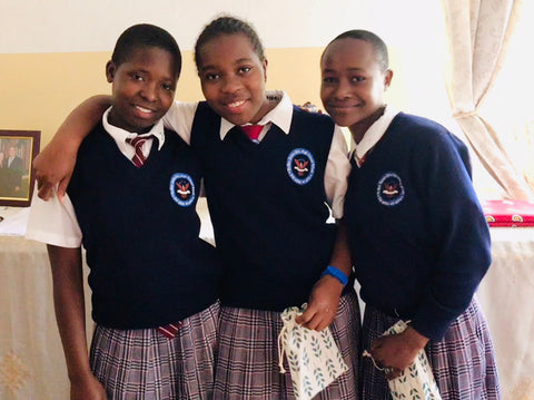 Spoolies Girls' Education Kenya_Sister Freda_Charity Donation