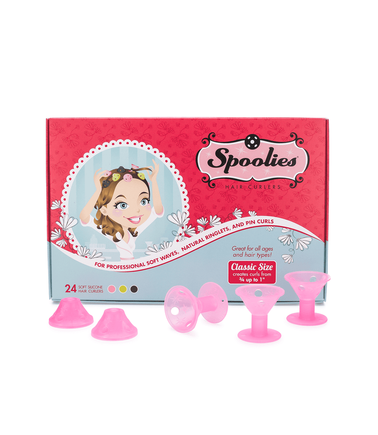 24pc Box - Medium Spoolies®, Playful Pink