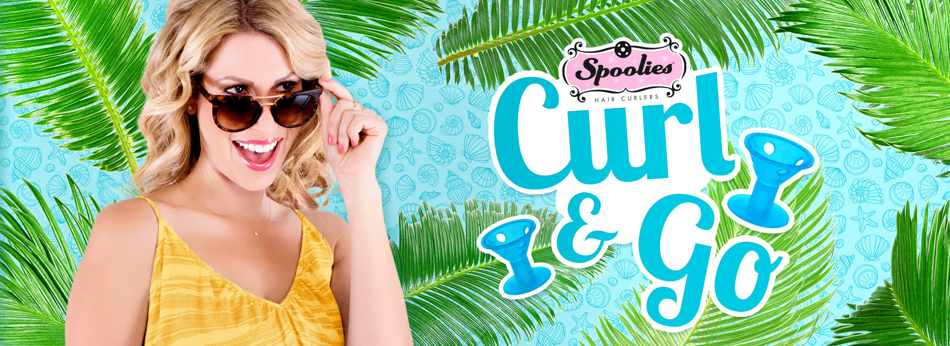 Spoolies® Hair Curlers Curl and Go