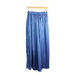 Blue Silk Pants