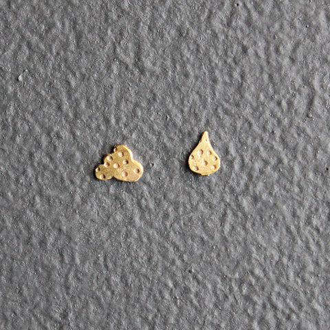 Gold Recycled 10K Earrings