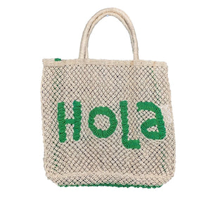 Yellow + Neutral Woven Hola Bag *more colors available*