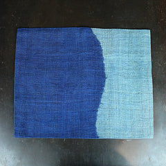 Blue Hand Dip-Dyed Placemat