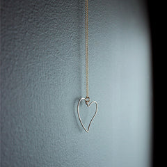 14K Gold Fill Heart Necklace