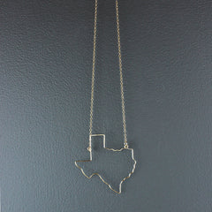 14K Gold Fill Texas Necklace