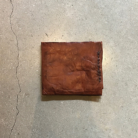 Brown Handmade Leather Wallet - Large