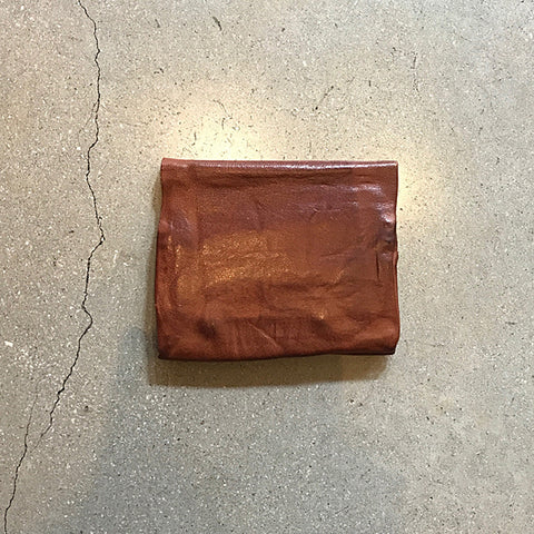 Brown Handmade Leather Wallet - Medium