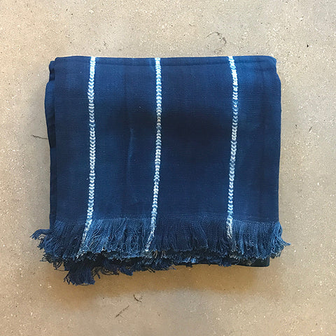 .Blue Summer Throw