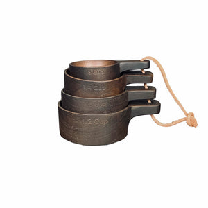 Brown Wooden Measuring Cups *more colors available*
