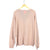 Pink Cashmere Button Sweater