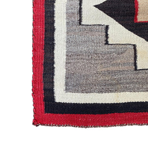 "Multi Colored Small Woven Rug - 2' 9"" x 5'"