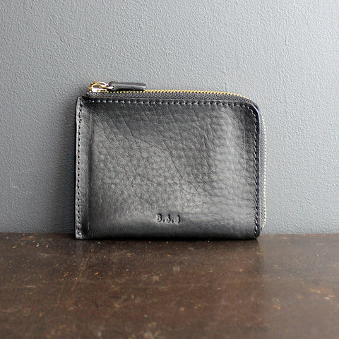 .Black Leather Wallet