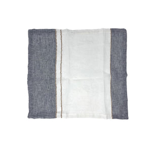 Blue + Cream Linen Napkin *more colors available*