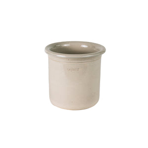 .Cream Stoneware Crock - Small *more sizes available*