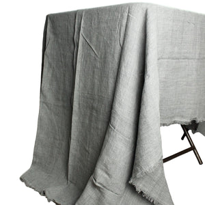 Charcoal Grey Tablecloth - Rectangle *more colors available*