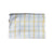 Blue + Yellow Checkered Tablecloth - Rectangle