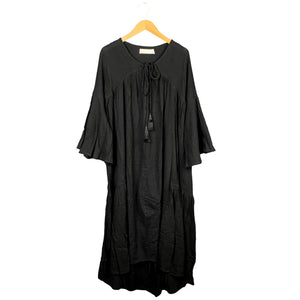 .Black Cotton Dress *more colors available*