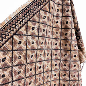 .Beige Cotton Textile