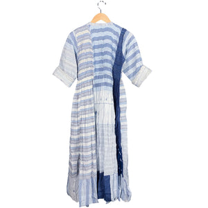 Blue + White Handwoven Dress