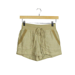 .Beige Linen Shorts *more colors available*