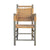 .Brown Woven Chairs - Set of 6