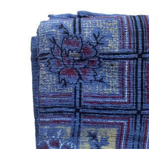 Blue Handwoven Cotton Textile