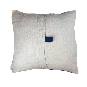 "Blue + Green Pillow - 24"" x 24"""