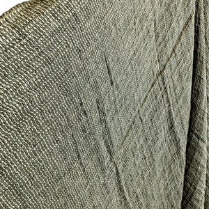 Green Linen Throw