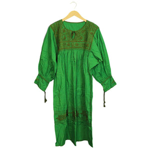 .Green Woven Dress *more colors available*