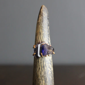 Blue Lolite Stacked Ring