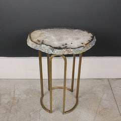 Agate Stone Side Table - Small
