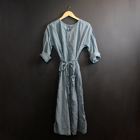 .Blue Alexis Silk Dress