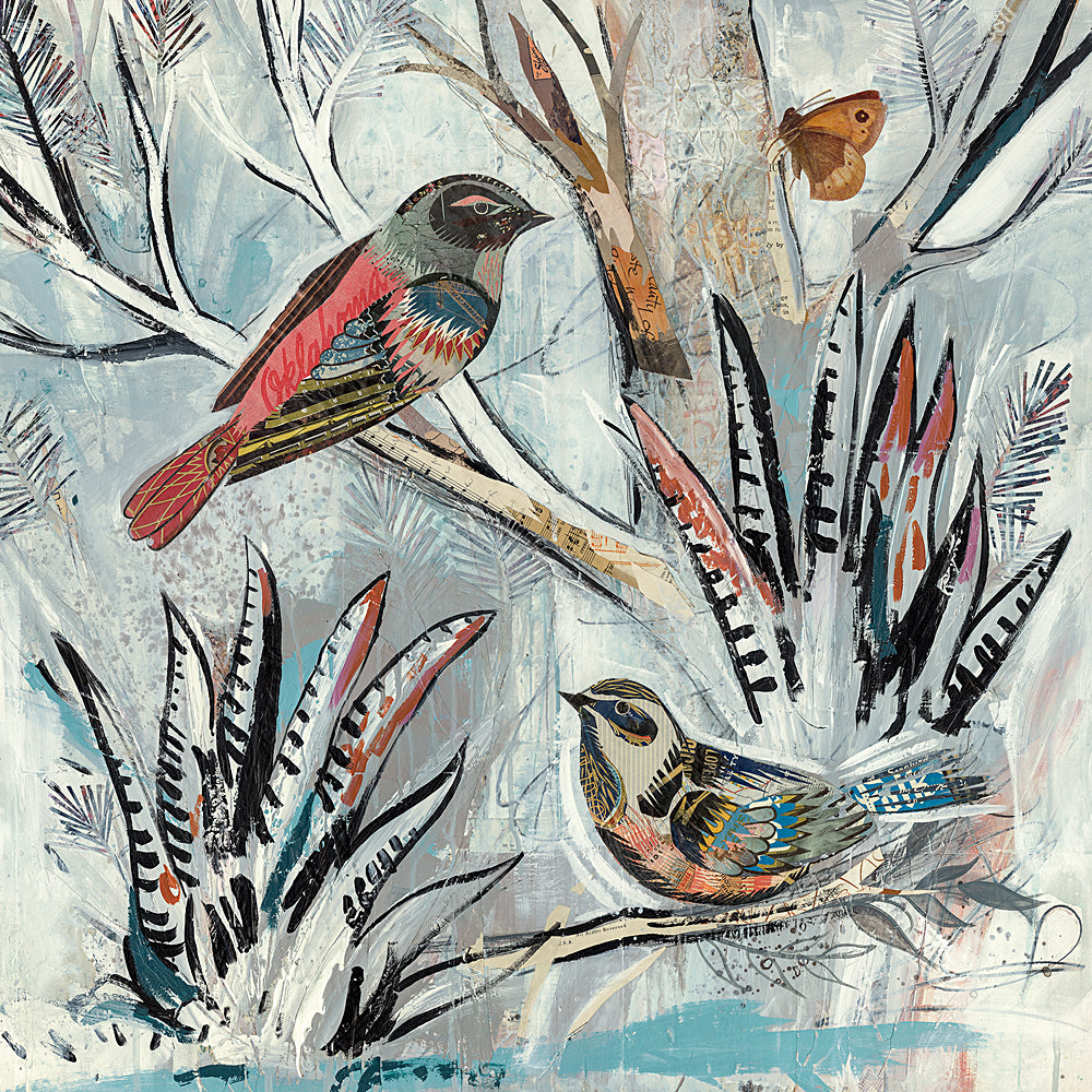 Multi Colored Print - Birds