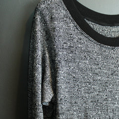 Black Switch Back Sweater