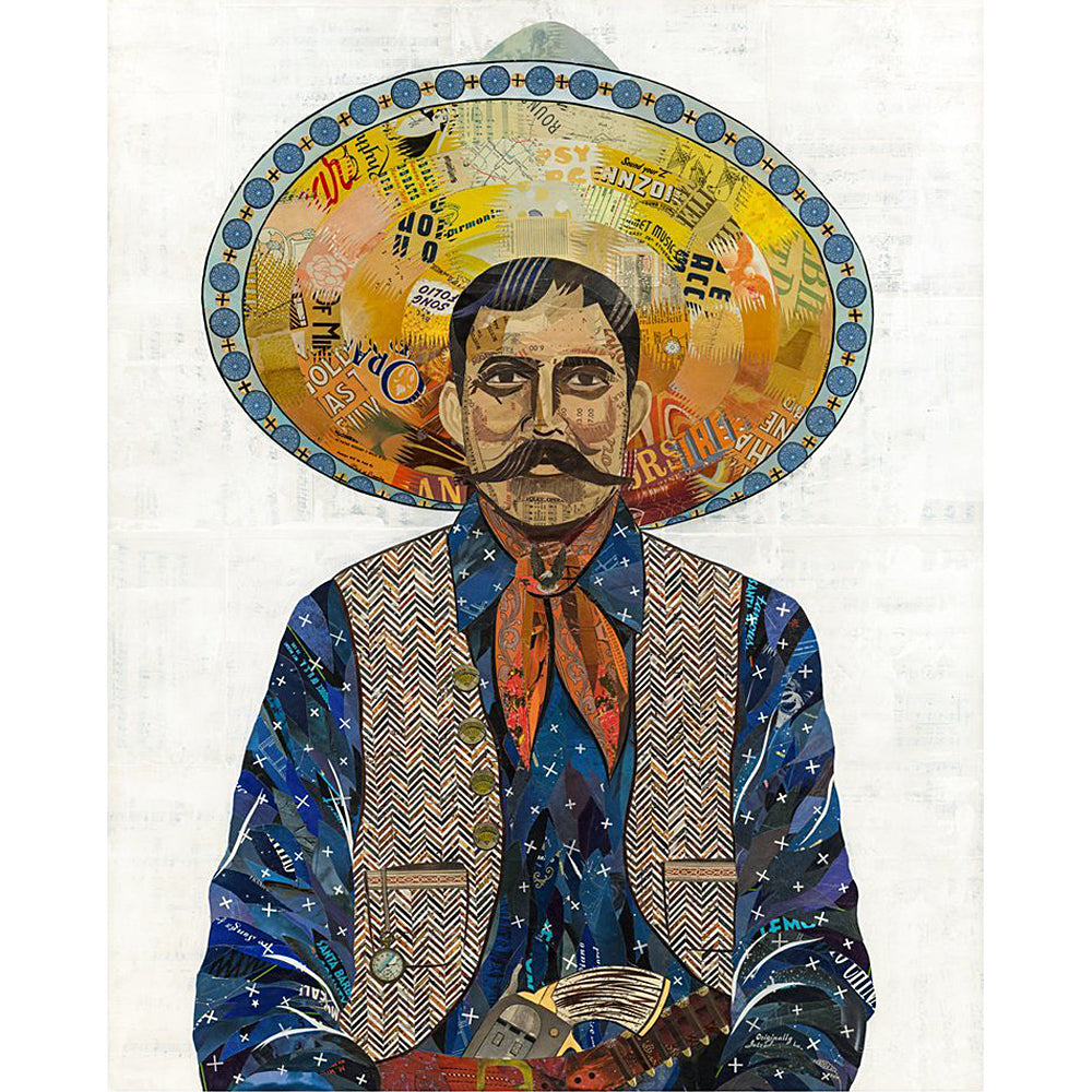 Multi Colored Print - Indigo Cowboy