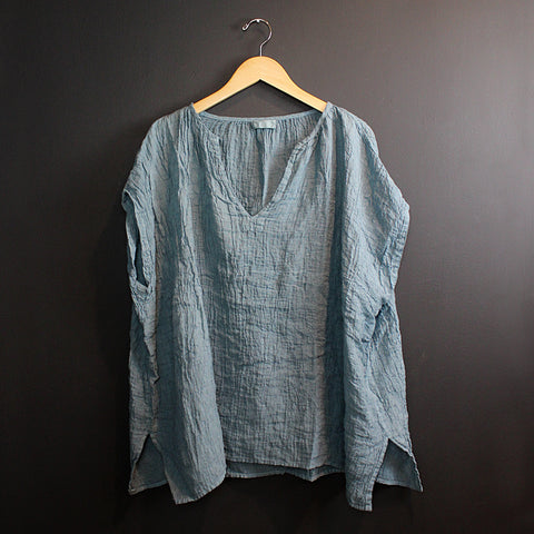 .Blue Jess Poncho Top