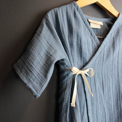 Blue Cotton Kids Kimono Set *More Colors*