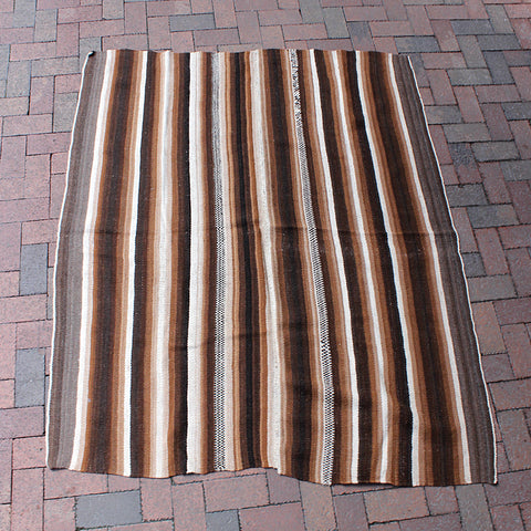 .Brown Bolivian Blanket