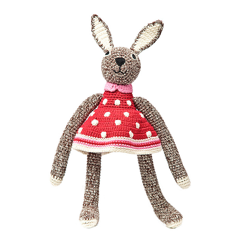 Hand Crochet Bunny - Brown