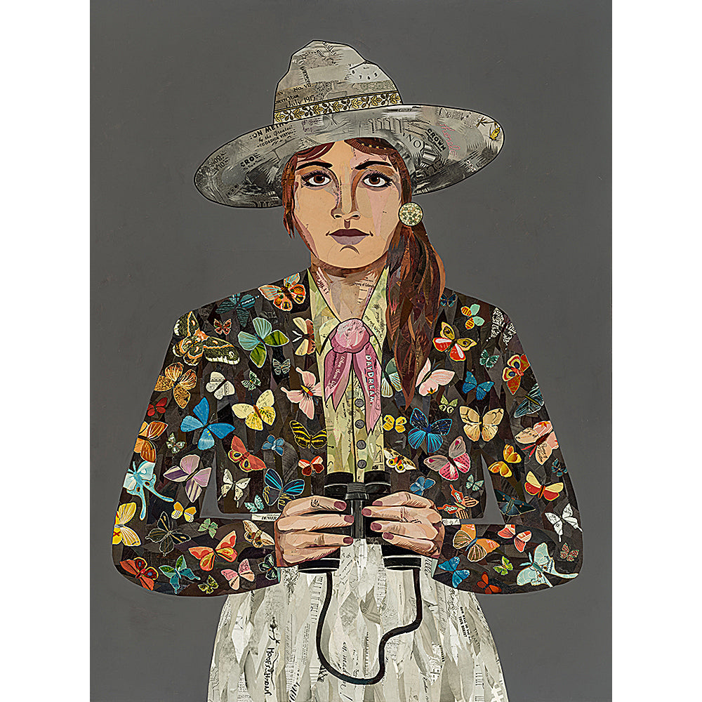 Multi Colored Print - Butterfly Ranger