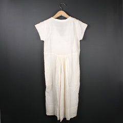 Cream Catherine Handwoven Dress