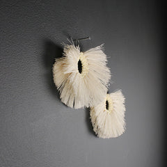 .Handmade Cotton Earrings