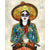 Multi Colored Print - Sugar Skull Cowgirl