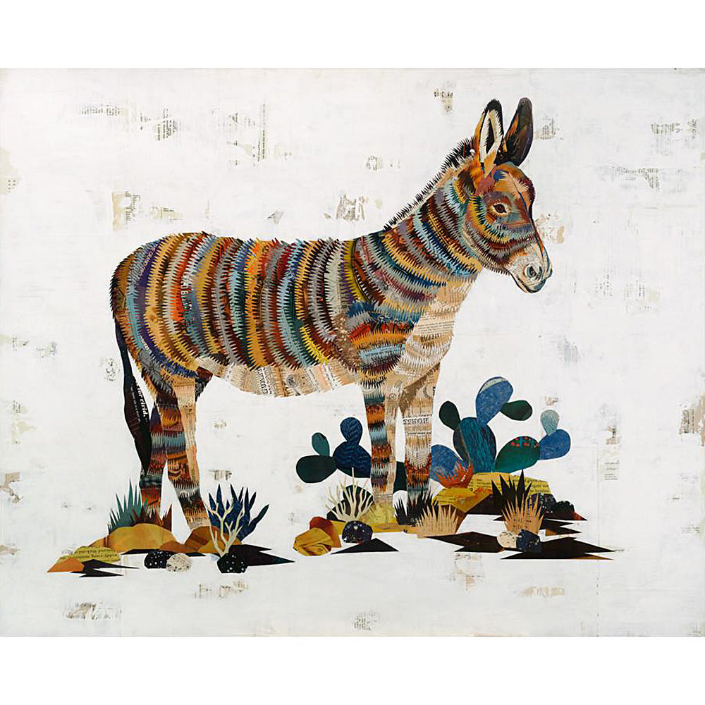 Multi Colored Print - Burro