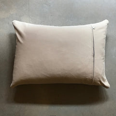 "Cream Vintage Dutch Pillow - 30"" x 21"""