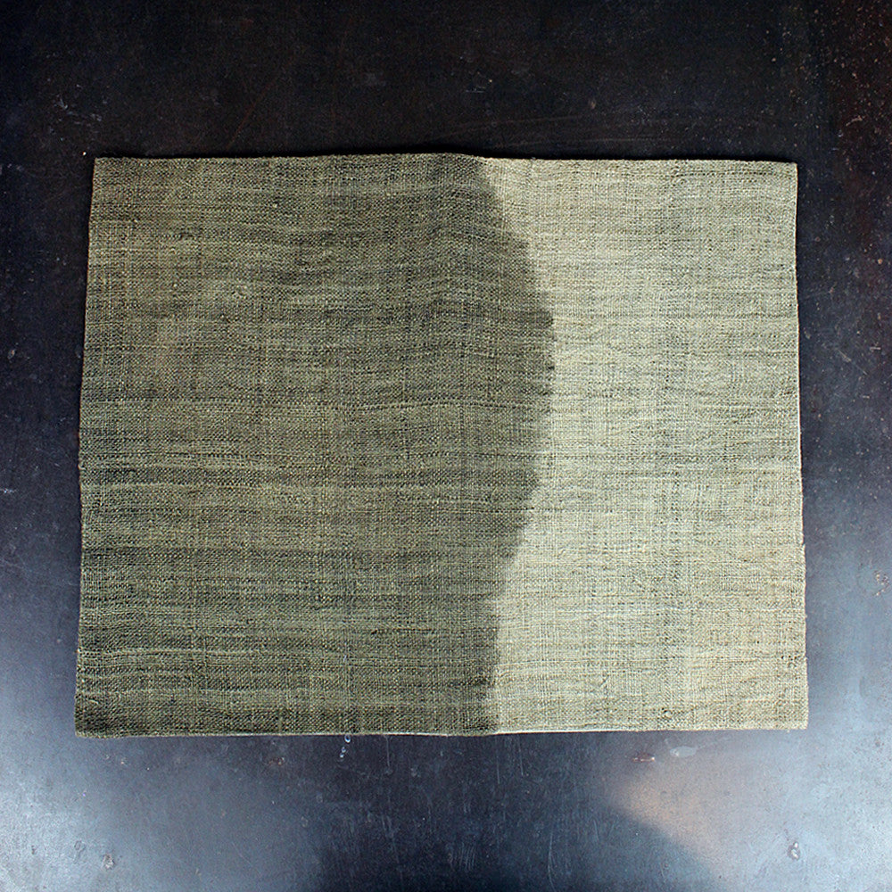 Brown Hand Dip-Dyed Placemat