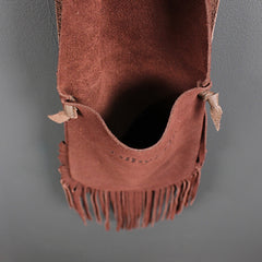 Brown Fringe Bag