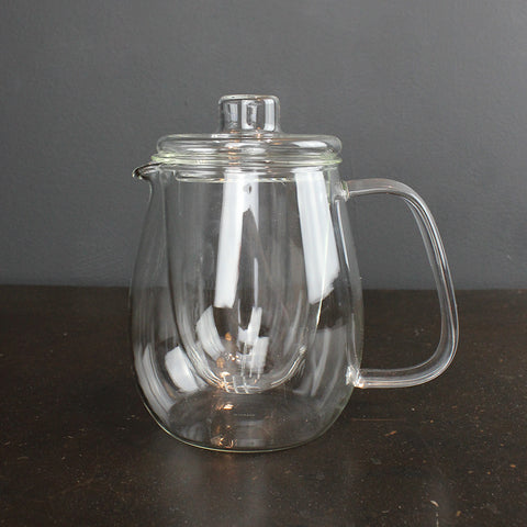 .Clear Glass Teapot - Large