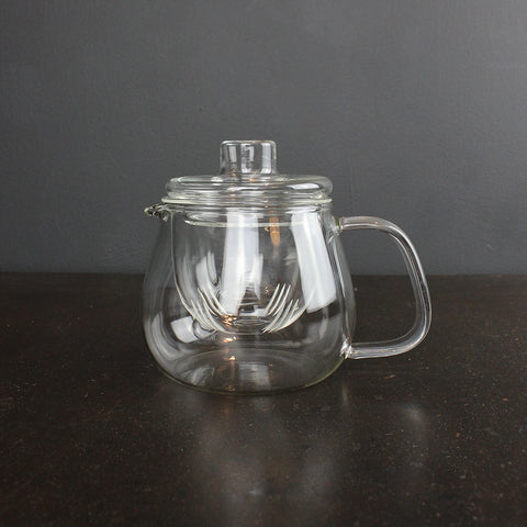 .Clear Glass Teapot - Small